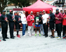 Kappa Alpha Psi Launch New Year with A Healthy Start