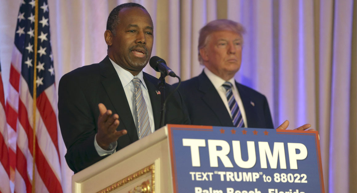 """""""If there are shenanigans, if it's not straightforward, all of those millions of people that Donald Trump has brought into the arena are not going to stay there,"""" retired neurosurgeon Dr. Ben Carson said."""