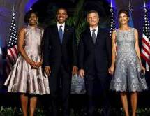 Obamas Dance the tango in Argentina