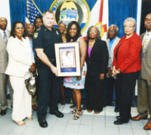Sheriffs Office Honors First Black Femal Corrections Officer, Mary Frances Griffin Sparks