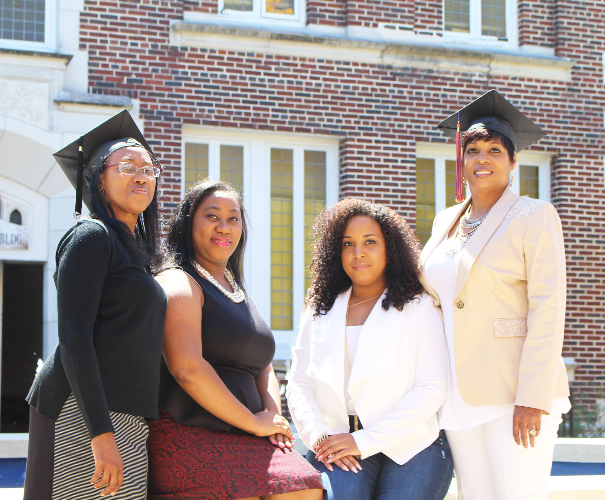 Joyce Truett (mother), Tiffany Nealy (daughter),  Tarayla Slaughter (daughter) and Terrilyn Smith (mother)