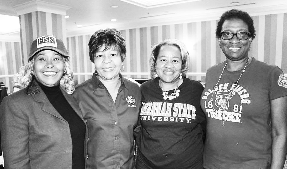 Pictured (L-R) Anest McCarthy, Gloria Belton, Johnetta Moore and Michelle Singleton.