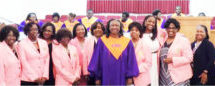 AKA Pi Eta Omega Chapter Supports Renowned Edward Waters College Concert Choir