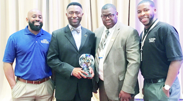 100 Black Men of America Honor Griggs  with National Health and Wellness Award