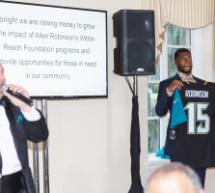 Jags Wide Receiver Hosts  Surf & Turf to Benefit Local Youth