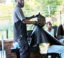 Local Barbers Spend Father's Day On
