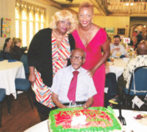Veteran and Activist Sollie Mitchell Feted With Surprise 98th Birthday