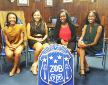 Zeta Phi Beta Awards Scholarships to local College Students