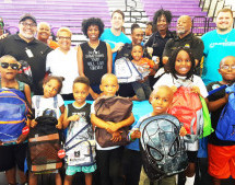 Back To School Life & Health Event Promotes New Town Success Zone