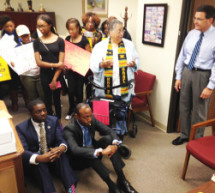 NAACP National President Cornell William Brooks Arrested After Sit-In with Youth in Congressional Office