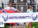 Armed  'White Lives Matter' Protesters Gather Outside Houston NAACP Building