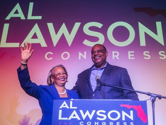 Al Lawson will likely be headed to Washington with his wife Delores