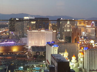 Rivea 64th floor:  Las Vegas on top of the world!
