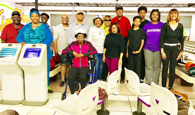 Pictured are Unity Club members, first row l -r: Sheila Cobb, Vanestine Small, Flora Bonner, Sarah Roundtree, Isaiah Bermudez, Enjyi Hannans and Olivia Young. 2nd row: James Ellis, Anthony Cobb, Michele Ellis, George Bonner, Linda Small, Sydney Small and Derek Bermudez