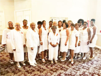Delta Delta Chapter of Phi Delta Kappa: pictured lst Row:  Fannie Bellamy, Delores Woods, Pearl Roziers, Jean Farmer, Rebecca Highsmith, Flora Parker, Jakki Stubbs, Marva Salary, Betty LeRoy, Latonia Mitchell 2nd Row: Yashica Fowler, Olester Williams, Jacqueline McKinney, Betty Donald, Sandra Milton, Wanda Mitchell, and Shirley A. Willis.