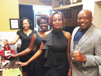 Shown l-r Breezy staff members Tanyika Armstrong, Susan Appleton and owners Thea and Jeff Jeffers