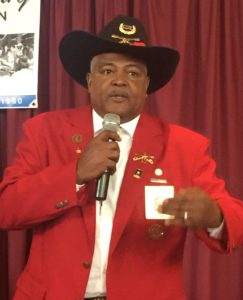 Joe Tillmon of the Buffalo Soldiers Historical Society