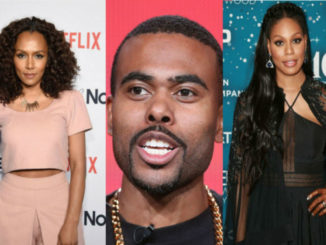 Shown are Janet Mock, Lil Duval and Laverne Cox
