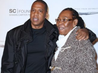 Jay - Z and his mother