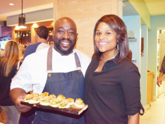 melanie lawson and chef kenny gilbert gilbert 1f