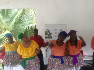 The Hatfield Cultural Singers shared cultural songs in a special performance.