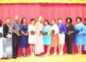 Zeta's Laud Educators with Community Pearls