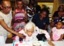 Ms. Clementine Shine  Celebrates 100th Birthday
