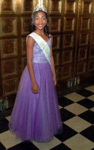 LITTLE MISS AFRICAN AMERICAN  2015 MARIAH HALL