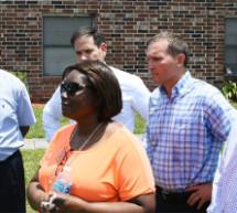Florida Senator Marco Rubio Joins Jax Mayor and Officials on Walk Through Jacksonville Housing Project