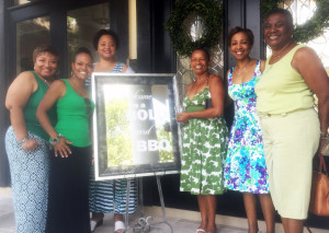 Shown above in attendance are Chapter members (L-R) Roslyn Phillips, Jeanine Ferguson, Sylvia Perry, Barbara English, Brenda Ezell and Rometa Porter.