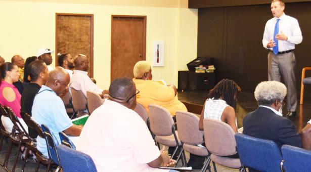 Mayor Addresses Northwest Quadrant Small Business Concerns