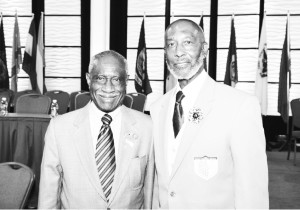 Bishop McKinley Young, left, will replace retiring Bishop John Richard Bryant as the senior bishop for the African Methodist Episcopal Church.