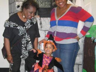 Sharon-Coon, great granddaughter Jaedyn Lee-Daniels  and granddaughter Johnnenshia Daniels.