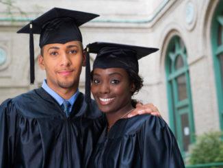 Graduates embracing