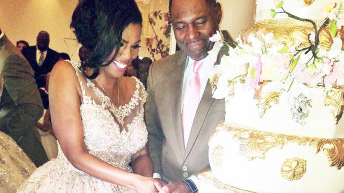 Omarosa Wedding Dress.Jax Pastor John Newman Marries Omarosa Manigault Free