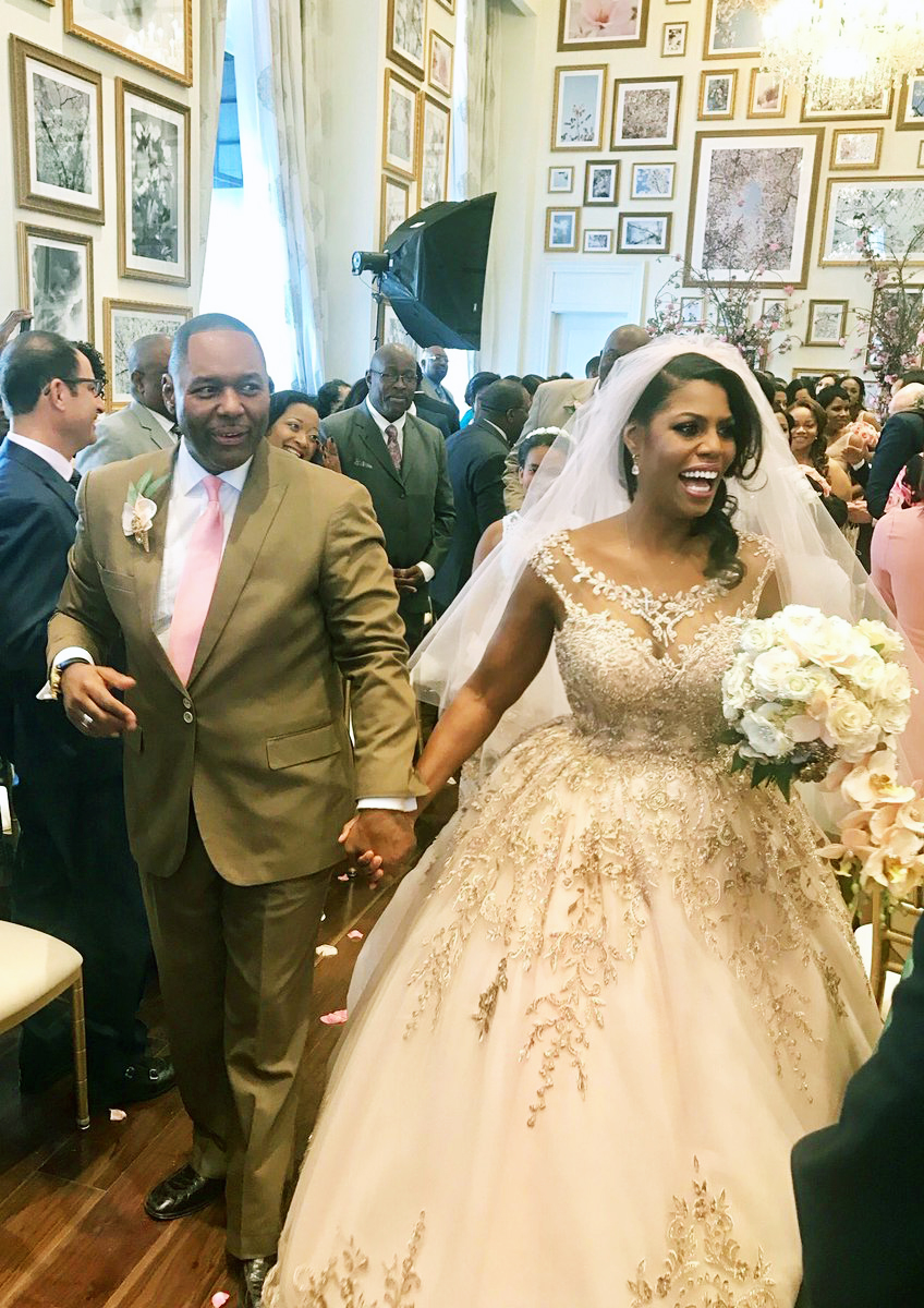 Jax Pastor John Newman Marries Omarosa Manigault Free Press Of