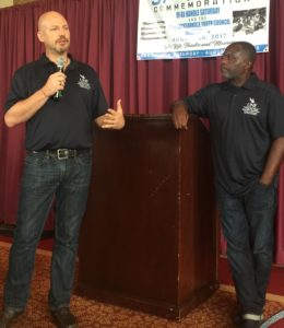 Dr. Chris Janson and Dr. Rudy Jamison of the Center for Education and Policy at UNF