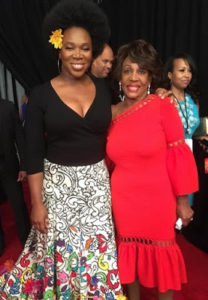 India Arie and Rep. Maxine Waters