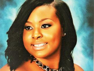 Shown is Scholarship awardee Sandra Taylor