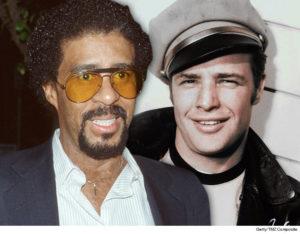 Richard Pryor and Marlon Brando